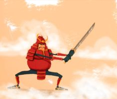 The Last Mexican Samurai by sergiosaleiro