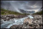 Cloudy River by Basement127