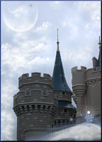 The Blue Castle by WDWParksGal