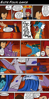 Fire Red Nuzlocke E4 Lance by BlazeDGO