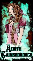 Aerith Gainsborough by beanzomatic