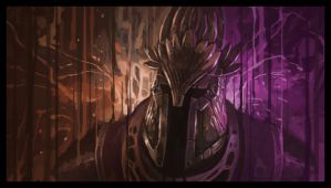 Bloody Chaos (Speed Painting) by Wolfgan