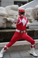 MMPR Red Ranger: Leader of the Power Rangers by effektdmentality