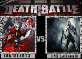 Death Battle Ragna The Bloodedge vs Death (DS II) by Stormtali