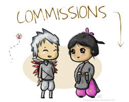 Commissions: Open by KittykatMWuster