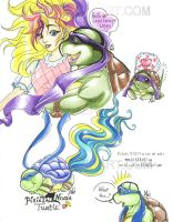 TMNT Pixietails Helloo LLL Don by alaer