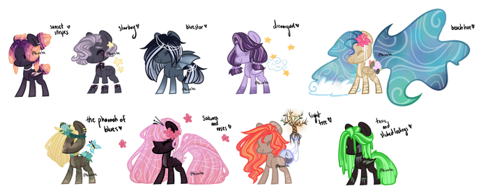 Shitty Adopt Batch- Set Price (OPEN 6/9) by hiivelee