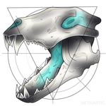 Wolf Skull by Nethartic