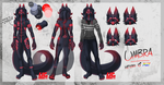 Umbra Ref Sheet 2017 by ArborealUmbra