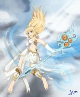 To the Storms and Heavens_Janna by HeonGaiden
