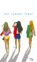 summer time _she by LEEhyO0106