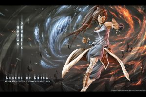 Legend of Korra: Novus Genesis by Jinbae