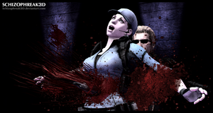 Its time to die, Jill !! by Schizophreak3D
