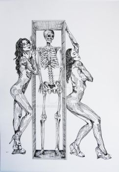 Dance Macabre by MisiasArt