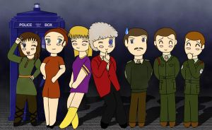 The Doctor and Companions-3 by Seiryuu-san