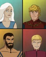 Game of Thrones - Batman style by Morgaer