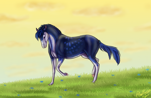Horse for Grig :D by ElenPanter