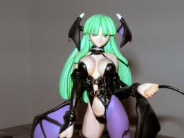 Morrigan Dressed as a Dom by Magoichi