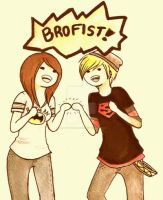 BROFIST by Bunny-with-Snake
