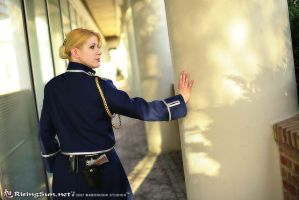 Riza Hawkeye from FMA by LadyHawke78