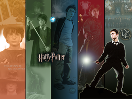 harry potter saga by Kathyg08