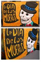 Day of the Dead Post Card by radishninja