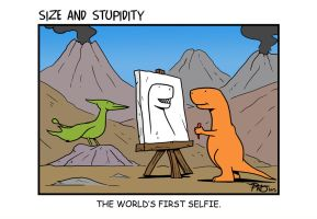 Selfie by Size-And-Stupidity