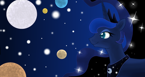 Luna Galaxy by AdamsSketches