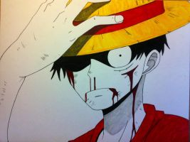 Luffy by Skullkid05