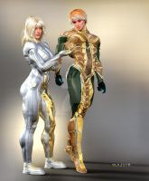 NATATORIAL _Nano Suits by MichelleLeRainbow