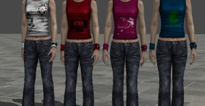Heather Shirt Texture Pack by DarkTonic