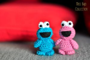 cookie monster by MissBajoCollection