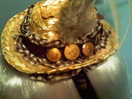 Country Cowgirl Mini Hat by GothicDorothy