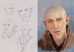 Solas Sketches by slugette