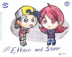 Ethan and Silver by Kamiflor