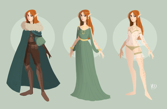 AT - Outfits Designs by Vicky-Pandora