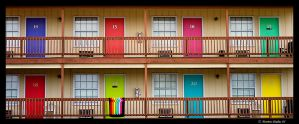 Colored Doors by mrb24
