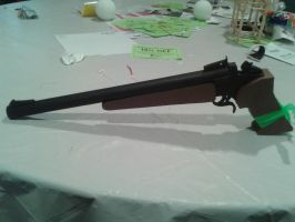 Thompson Contender by BuildMyPaperHeart