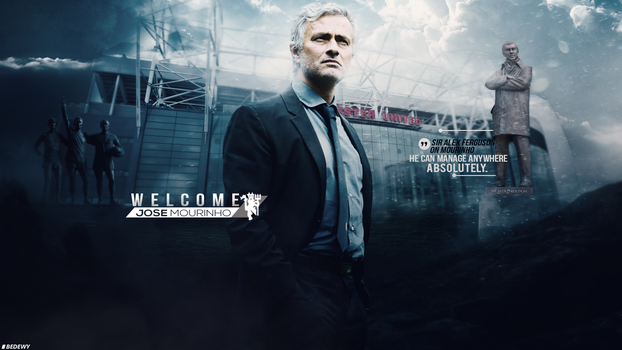 WELCOME JOSE MOURINHO - WALLPAPER by OmarBedewyGFX