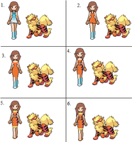 Tutorial: How to make Introsprites(Arcanine Intro) by MaikeSapphire