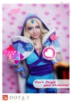 DotA 2 - Crystal Maiden - Valentine's day by MilliganVick