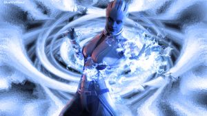 Liara's power by BlueWolfSoul