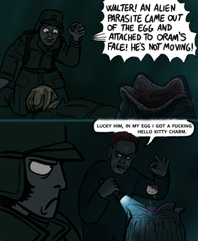 Alien Covenant: Easter Eggs by killb94