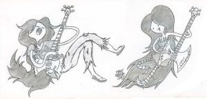 Marceline sketches by Jose-Miranda