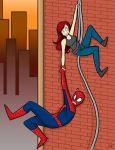 Mary Jane Saves Spidey by starlinehodge