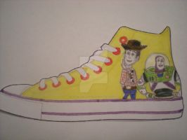 Toy Story Shoe Design by dancingchaos409