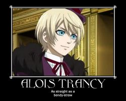 Alois Trancy Motivational Poster by ThatAlicorn