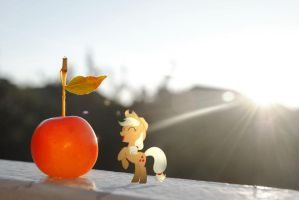 AJ and the Giant Apple by UtterlyLudicrous
