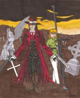 Alucard and Seras by anime2people