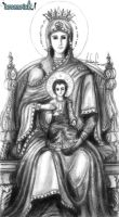 Mary, Mother of God by XLordAndyX